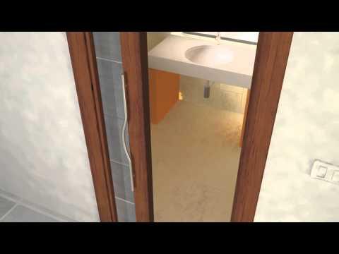 Porte scorrevoli interno ed esterno muro   youtube