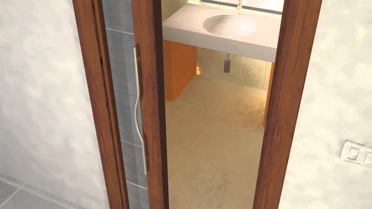 Porte scorrevoli interno ed esterno muro youtube - Porte scorrevoli interno muro prezzi ...