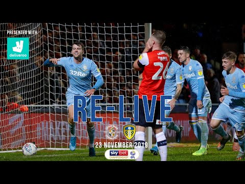 RE-LIVE | Luton Town 1-2 Leeds United | EFL Championship | 23 November 2019