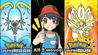 Pokemon UltraSun & UltraMoon - All New Exclusive Z-Moves! [Highest Quality]