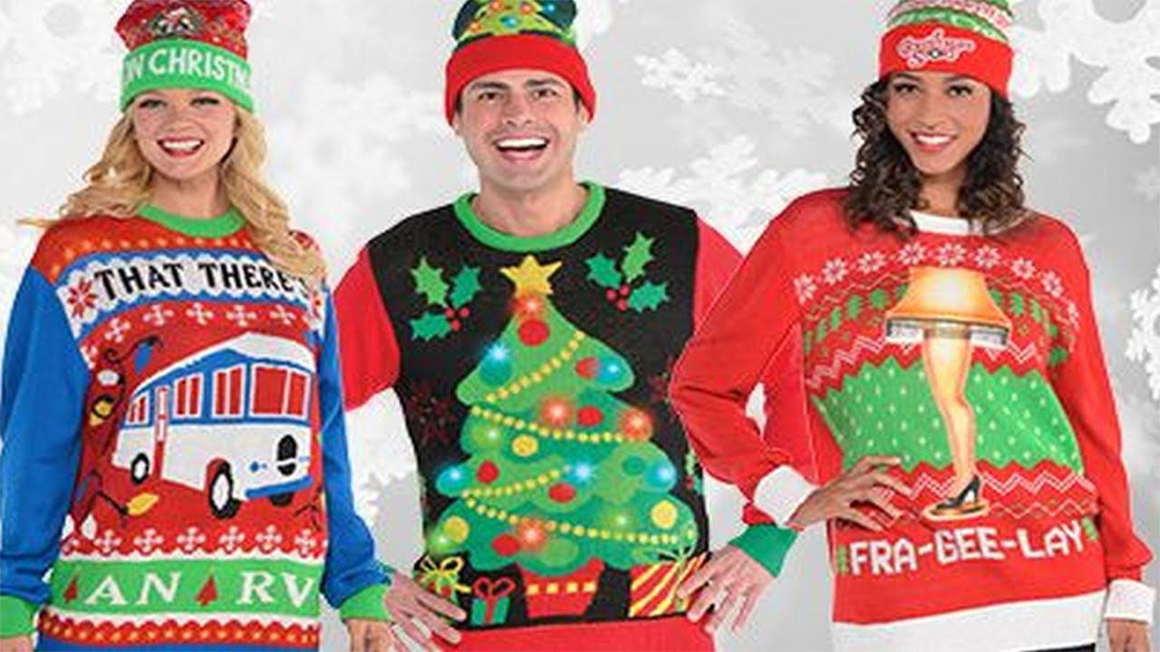 2017 Ugly Christmas Sweaters Ideas 5 - YouTube
