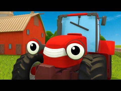 Trevor the Tractor Song   Kids Songs   Gecko's Garage