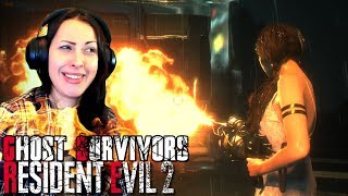 RESIDENT EVIL 2 Remake Ghost Survivors RUNAWAY Walkthrough Part 1 - HOT AND WET