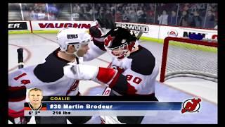NHL 06 (PS2) Capitals vs Devils