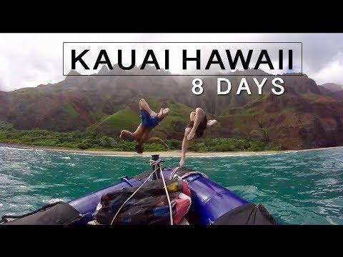 KAUAI HAWAII TRAVEL VLOG 2018 | Go Blue Adventure Tour