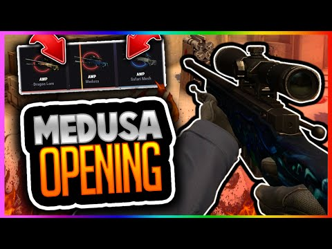 CSGO BETTING: AWP MEDUSA OPENING!!! ALL OR NOTHING Case Opening! (CS GO AWP Medusa Opening)