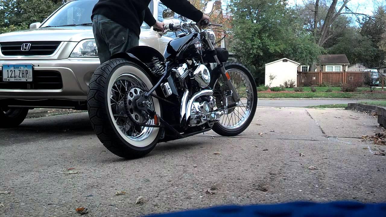 1987 Harley-Davidson Sportster Bobber Cold Startup