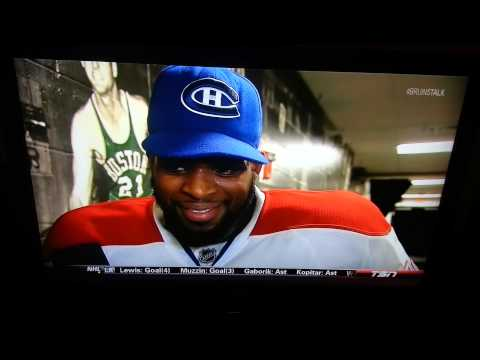 Subban Post Game Interview
