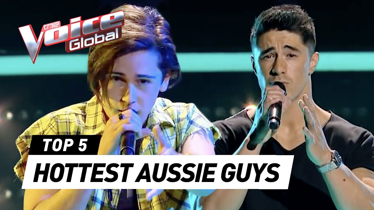 The HOTTEST GUYS on The Voice Australia 😍❤️
