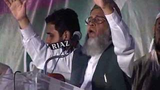 Syed Munawar Hasan Addressing IJT's Umeed e Pakistan March In Lahore - 17 Oct 2011