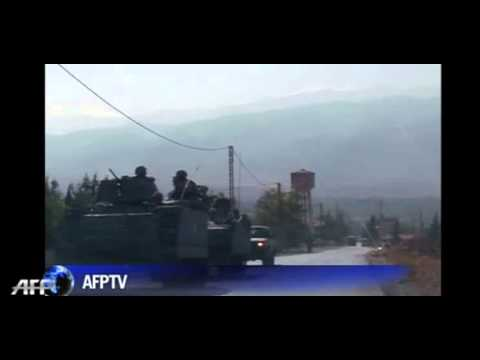 Lebanese army advances in border battle with Islamists