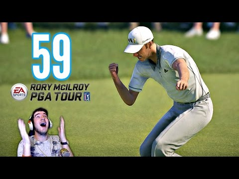Rory McIlroy PGA Tour - 59 ON HARDEST SETTINGS? DJ/ST ANDREWS! (Xbox One Gameplay HD)