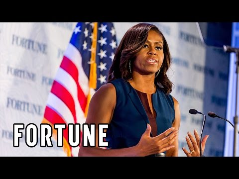Michelle Obama: Fortune's Most Powerful Women show what educated women can do | Fortune