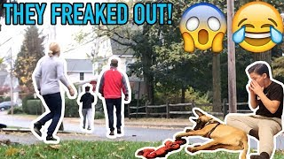MY DOG RAN AWAY PRANK ON PARENTS