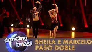 Sheila Mello e Marcelo fazem jurados chorar com paso doble Video