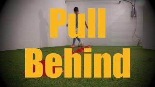 pull behind cones dribbling drills soccer football ball mastery training for u12 u13