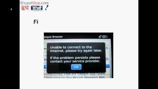 setup wi-fi in blackberry curve 8520 and Use Internet on Without BIS Plan or data service
