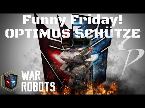 War Robots Trailer - FUNNY Friday! Optimus (watch with headphones if possible)