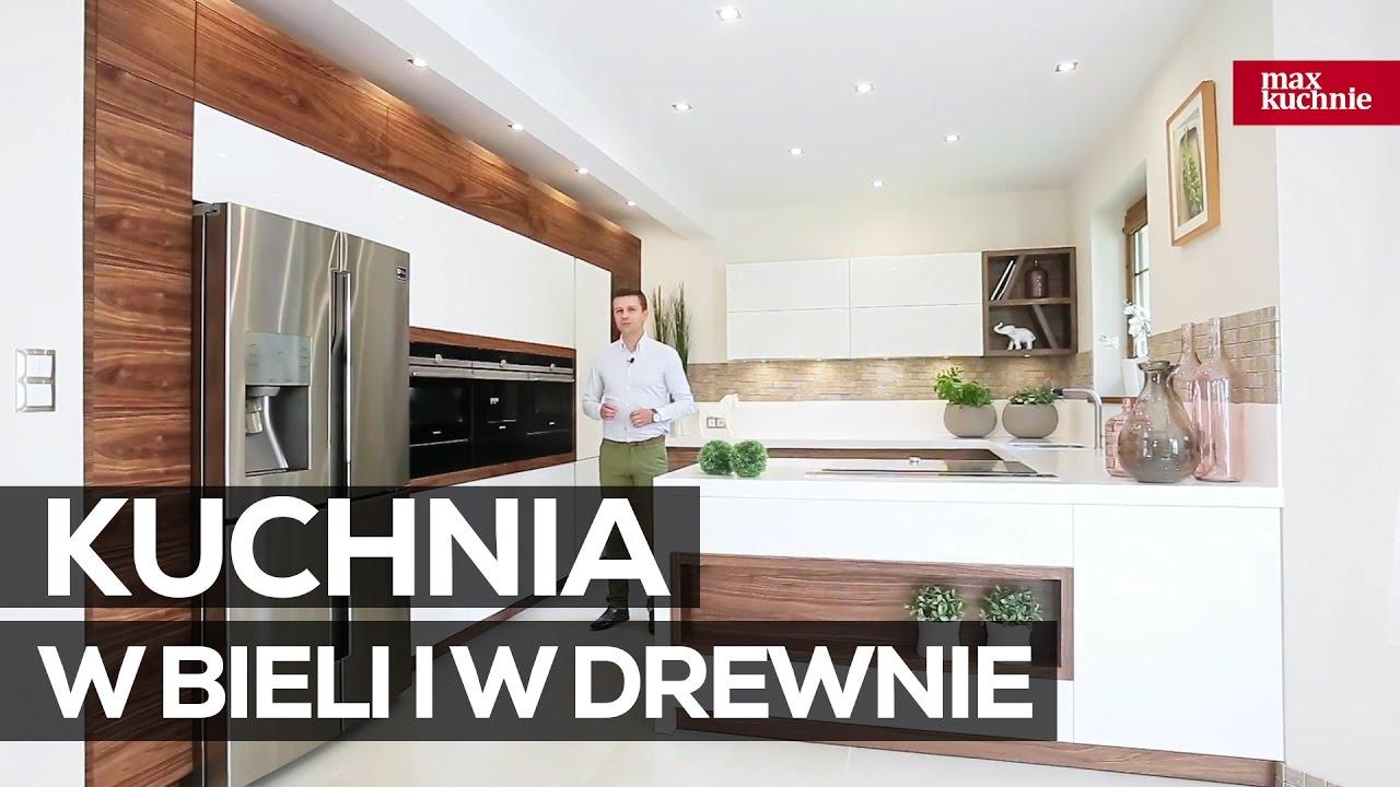 Kuchnia W Bieli I W Drewnie Studio Max Kuchnie Vigo Chrzanow