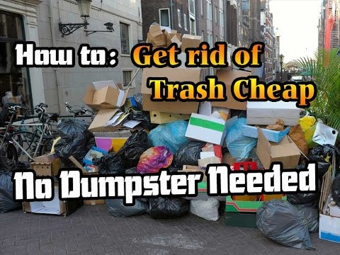 How to get rid of trash without a dumpster expense - Jigga Jones - Guru of The Ghetto
