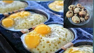 Egg Cake - Amazing Egg Cake From Quail eggs - Egg Street Food - Quail Egg - Street Food in Dhaka
