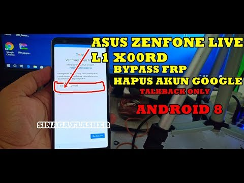 Bypass FRP ASUS Zenfone LIVE L1 (X00RD)