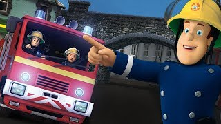 Fireman Sam US New Episodes   Runaway Jupiter! - Ground Saves Marathon 🚒 🔥 Cartoons for Children