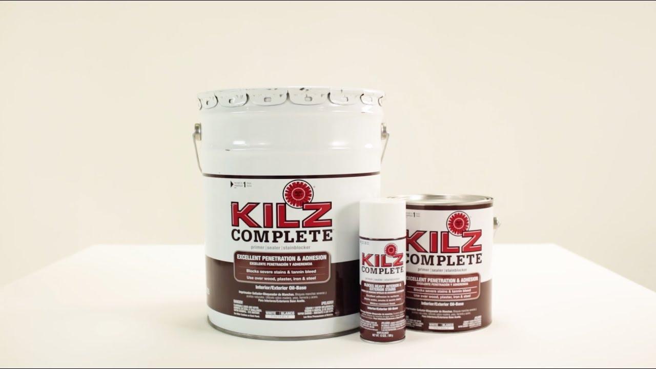 Kilz Complete Primer Product Information