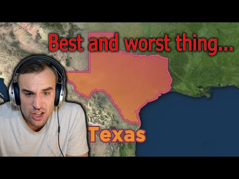 The Best And Worst Thing About EVERY U.S. State (Estonian Reacts)
