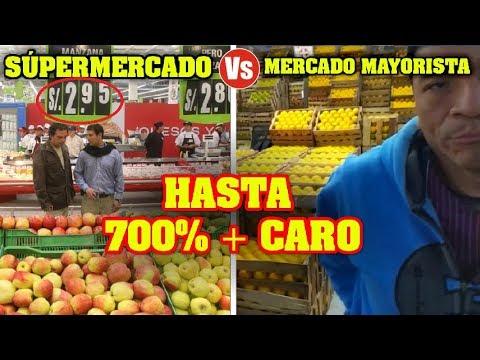 💰 SUPERMERCADO VS MERCADO DE FRUTAS ¿TANTA DIFERENCIA? | DILO NOMAS