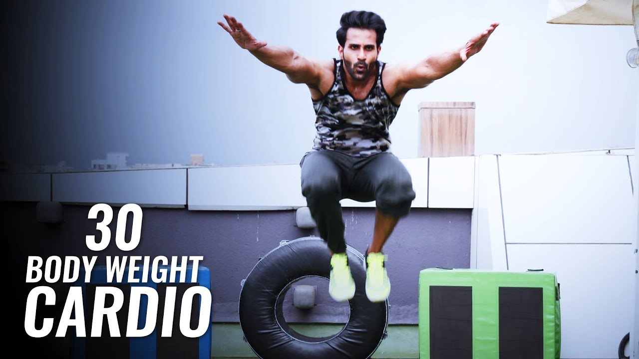 5f6e5ca02d 30 Body Weight Cardio with NO Equipment | Rohit Sharma - YouTube