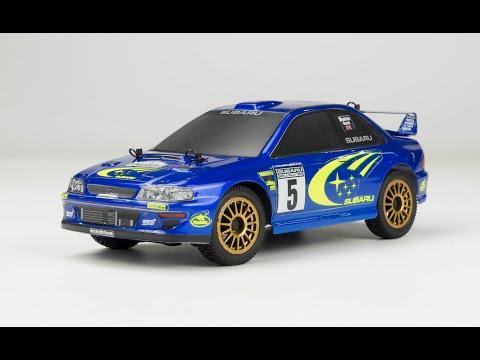 Carisma RC - GT24 1/24 Scale Micro 4WD Brushless RTR, Subaru WRC