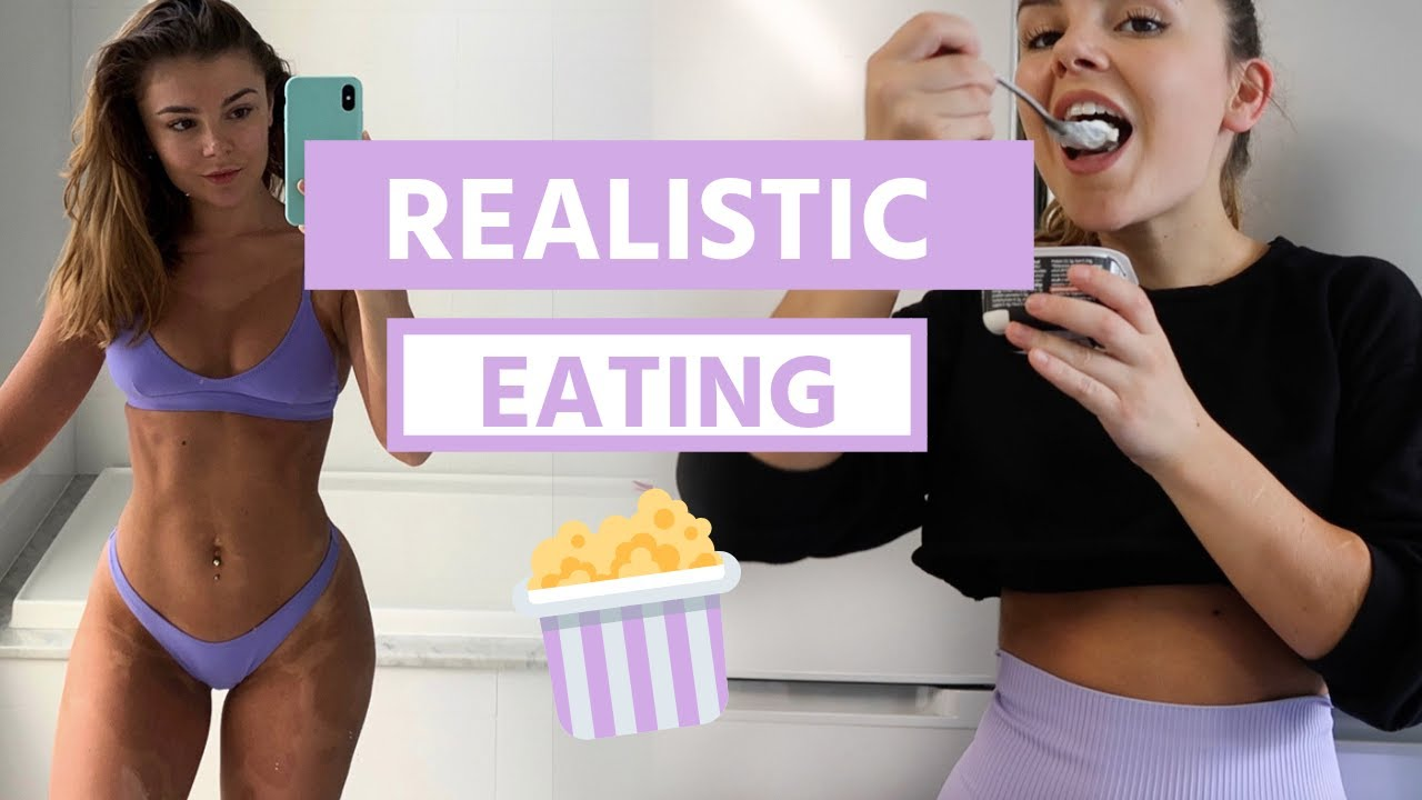 FULL DAY OF EATING | realistic, 100g protein, treats
