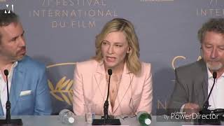 Cate Blanchett  the Savage  Queen 👑