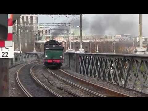 RPSI Santa Special Steam and Diesel 2014 part 1