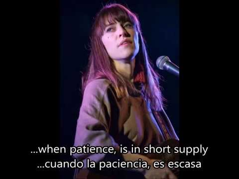 Feist - So Sorry (Subtitulos Inglés - Español)