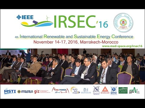 IRSEC'16 - 4th International Renewable and Sustainable Energy Conference