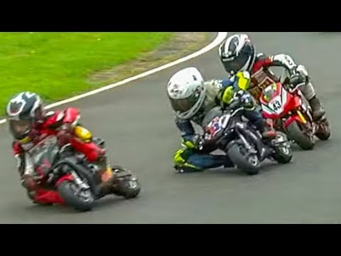 7m+ views: Kids In INCREDIBLE Minimoto Motorcycle Race! Cool FAB 2017 Rd 4, Minimoto Pro Class