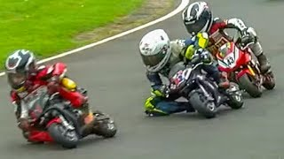 Kids Racing Motorbikes in Dramatic Race! Cool FAB 2017 Rd 4 Part 5 Minimoto Pro