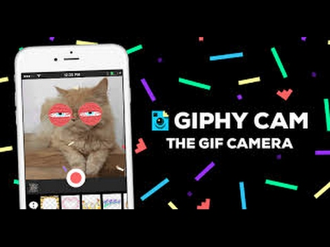 Giphy Cam Quick Look - YouTube