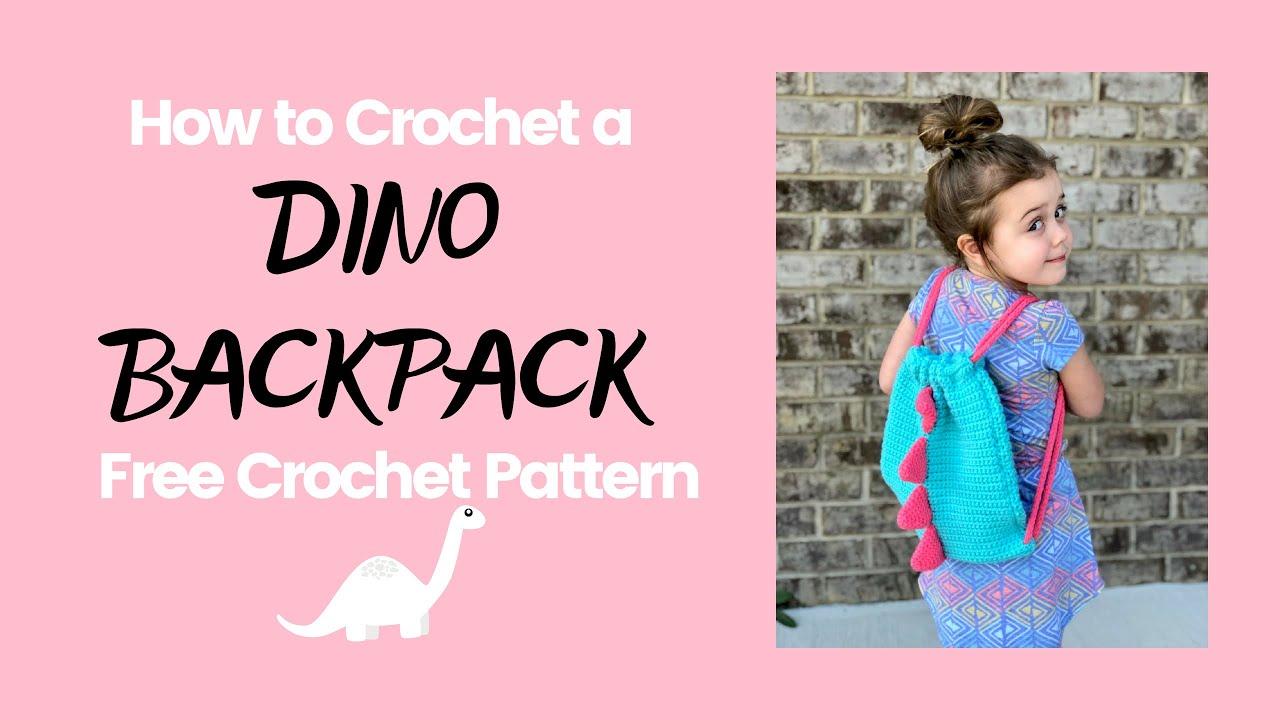 Cinch Sack Drawstring Backpack Crochet Pattern by | Crochet ... | 720x1280