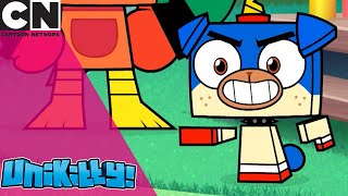 Unikitty! | How to Win a Hot Dog Competition | Cartoon Network UK
