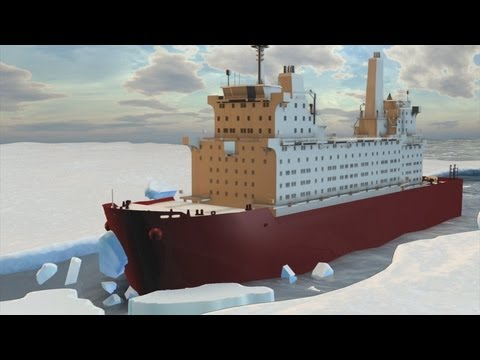 Ships may sail directly over north pole by 2050