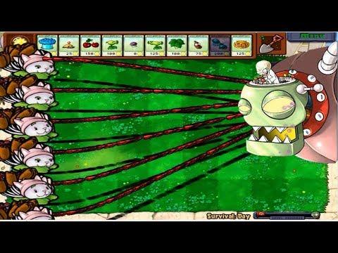 9999 Cattail vs All Zombies vs Zombistein Hack Plants vs Zombies