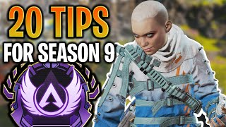 20 Tips You MЏST Know for Season 9! (Apex Legends)