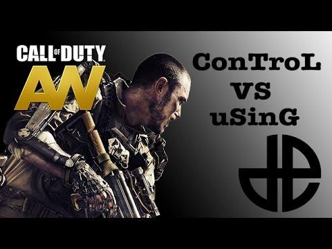 Match de Team Decerto | Advanced Warfare |  ConTroL VS uSinG | HD