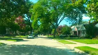 Driving to Eastpointe, Michigan from Saint Clair Shores, Michigan