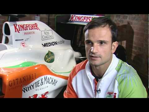 Vitantonio Liuzzi - Launch of the Force India VJM03
