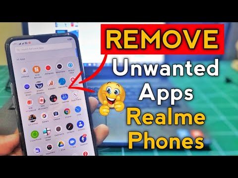 REMOVE UNWANTED APPS From REALME PHONES | No ROOT | Remove Annoying Bloatware Apps Without Root