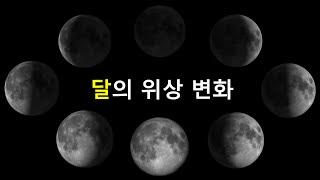 날짜에 따른 달의 모양 변화 영상 (2분 상식)